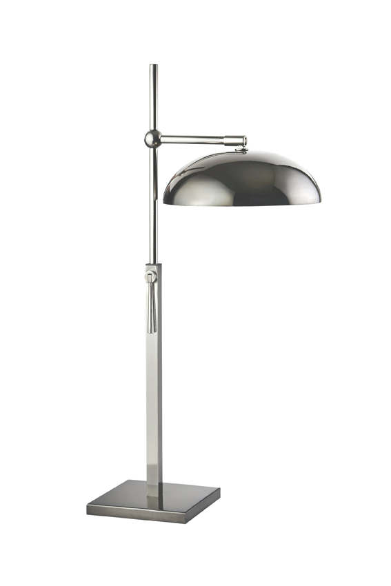 nickel noir lampe a poser lampara
